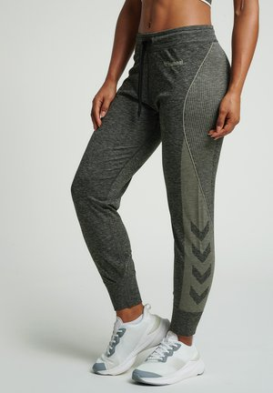 Tracksuit bottoms - vetiver melange
