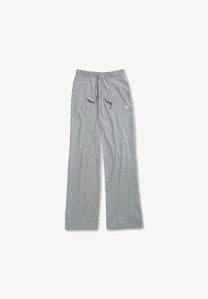 WM DEMPSIE SPLIT FLARE PANT - Tracksuit bottoms - grey heather