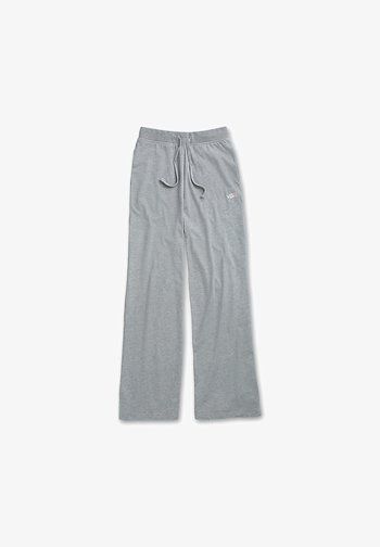 WM DEMPSIE SPLIT FLARE PANT - Tracksuit bottoms - grey heather