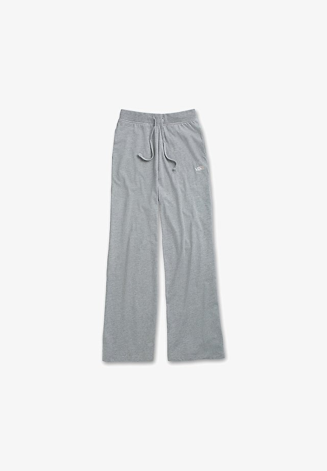 WM DEMPSIE SPLIT FLARE PANT - Trainingsbroek - grey heather