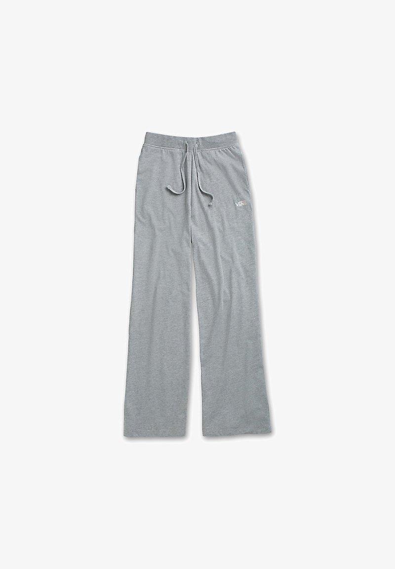 Vans - WM DEMPSIE SPLIT FLARE PANT - Tracksuit bottoms - grey heather
