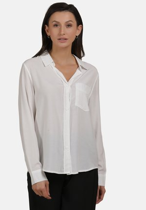 Button-down blouse - white