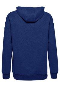 Hummel - ZIP HOODIE - Zip-up hoodie - true blue - 1