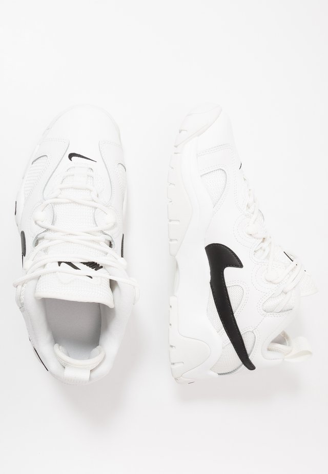AIR BARRAGE - High-top trainers - summit white/black