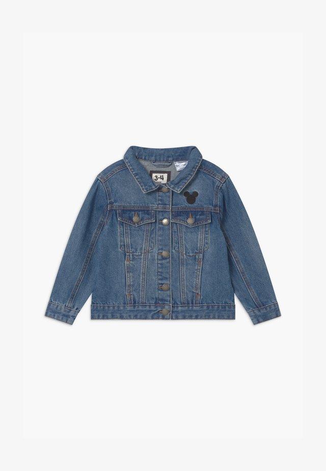 DISNEY MICKEY LICENSE DAISY  - Kurtka jeansowa - mid blue wash