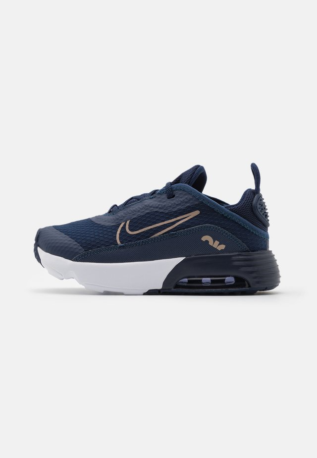 AIR MAX 2090 UNISEX - Joggesko - midnight navy/metallic red bronze