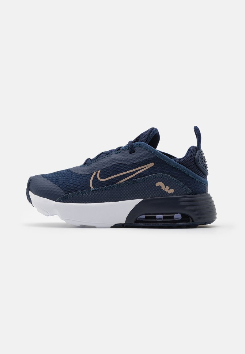 Nike Sportswear - AIR MAX 2090 UNISEX - Trainers - midnight navy/metallic red bronze