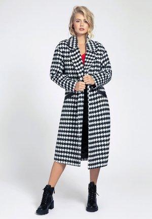 Classic coat - mehrfarbig schwarz