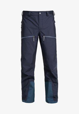 PURPOSE PANTS - Talvihousut - bucket blue