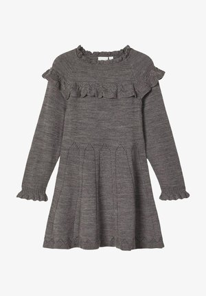 Jumper dress - plum kitten