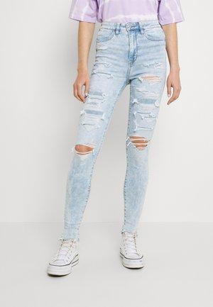 HIGHEST RISE JEGGING - Jeans Skinny Fit - light acid wash