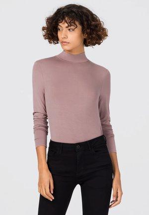 Long sleeved top - mauve