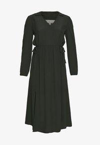 Dorothy Perkins - BILLIE AND BLOSSOM COLLAR MIDI DRESS - Day dress - khaki - 3