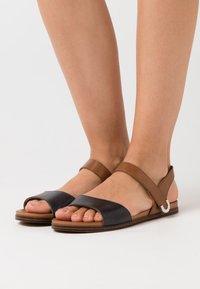 Caprice - Sandals - ocean/nut - 0