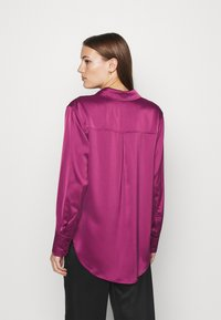 Who What Wear - Button-down blouse - deep berry - 2