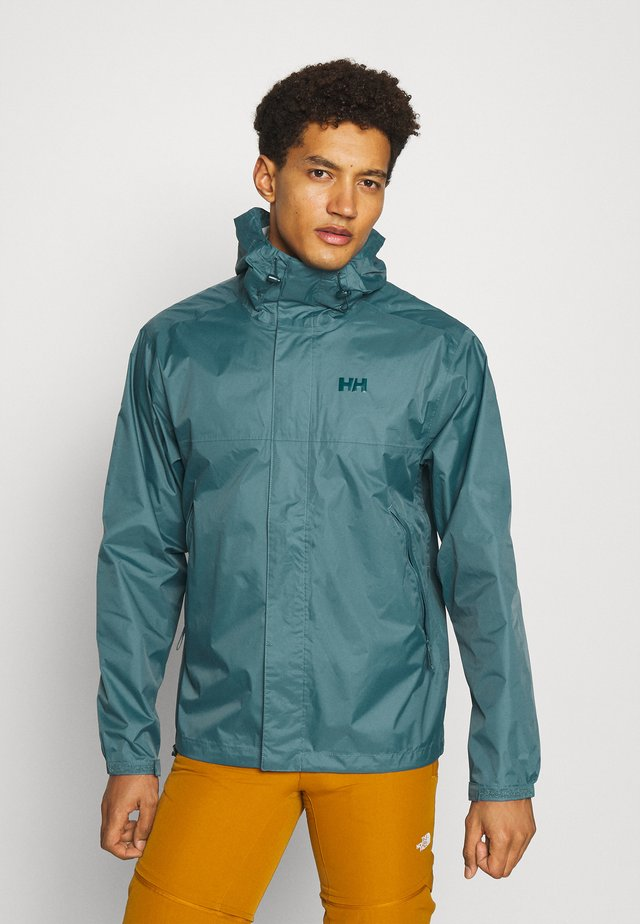 LOKE JACKET - Kurtka hardshell - north teal blue