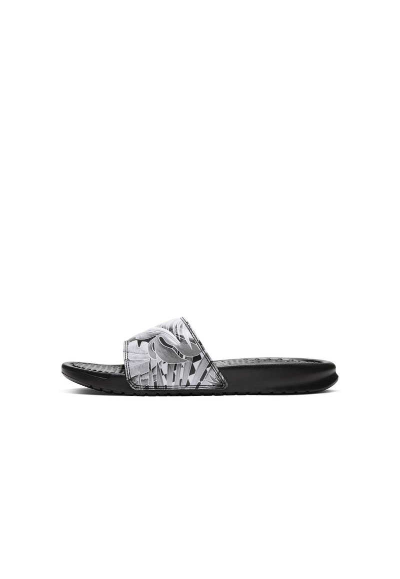 Nike Sportswear - BENASSI JDI PRINT - Klapki - black/white
