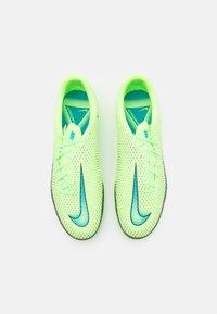 Nike Performance - PHANTOM GT ACADEMY FG/MG - Moulded stud football boots - lime glow/aquamarine - 3