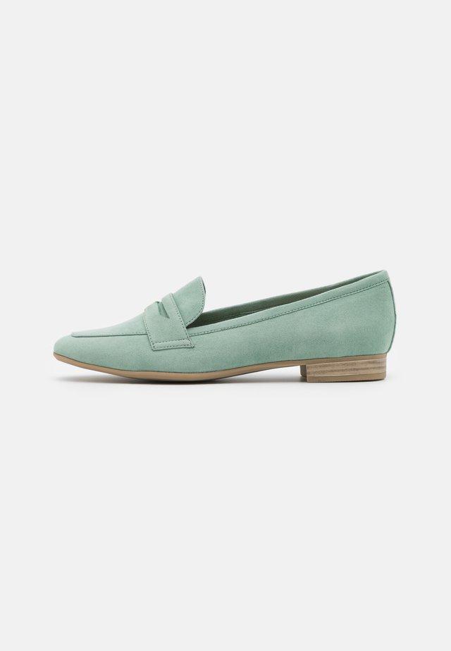 Nazouvací boty - sage