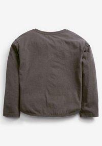 Next - RAINBOW SEQUIN - Print T-shirt - grey - 1