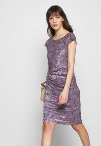Swing - Cocktail dress / Party dress - grau/violett - 5
