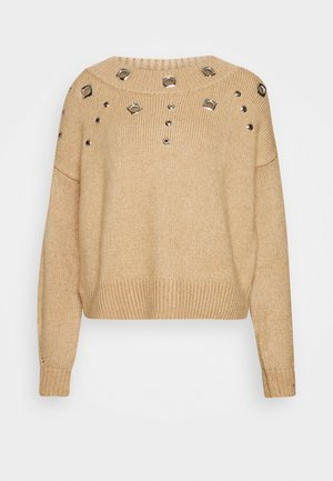 TAGIKISTAN - Pullover - beige
