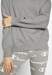 Champion - HIGH NECK - Collegepaita - grey - 5