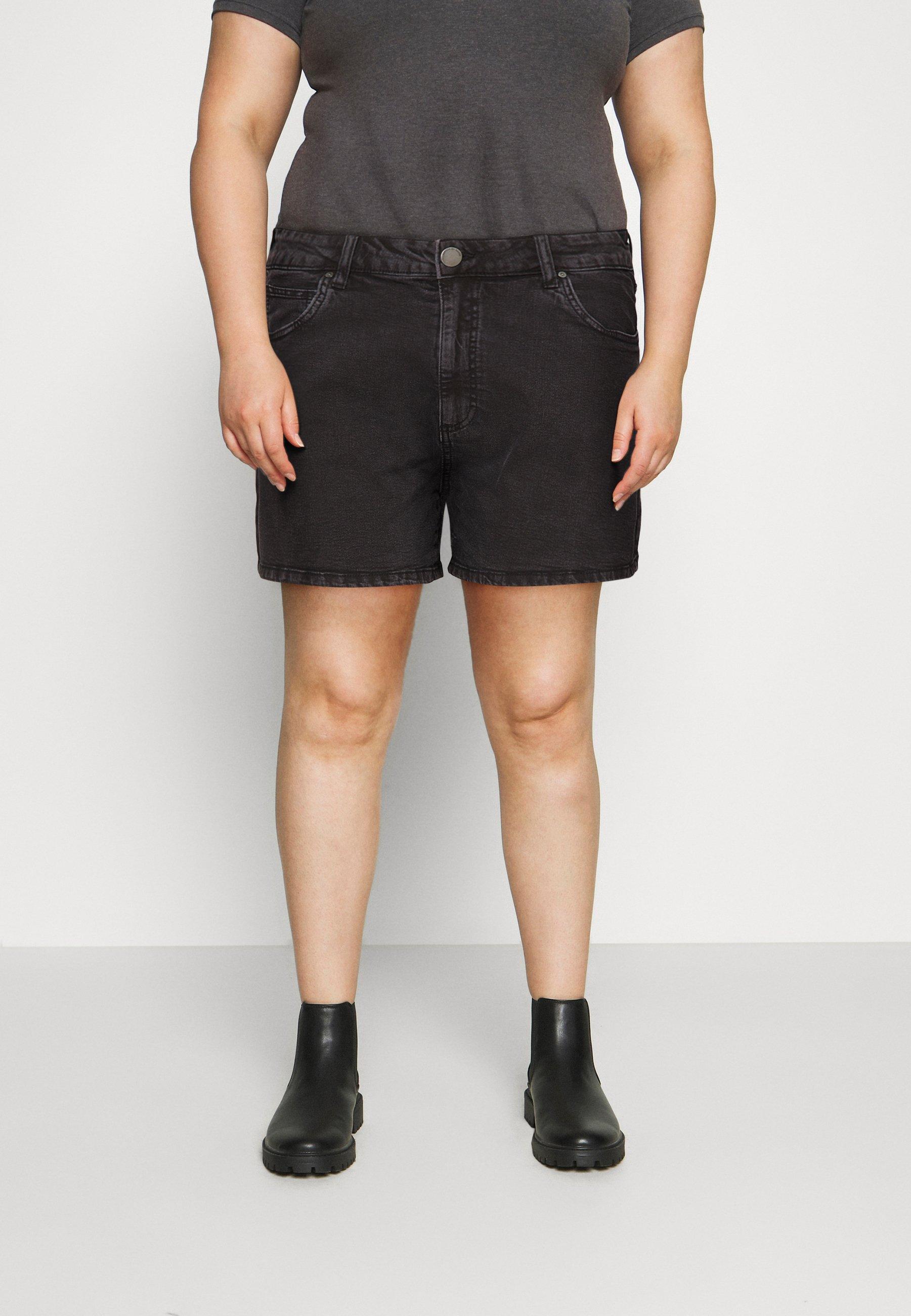 Women HIGH WAISTED - Denim shorts