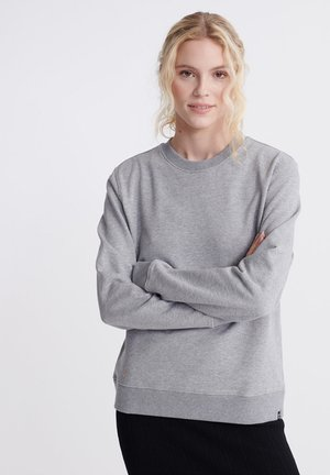 Sweatshirt - blue stone grey marl