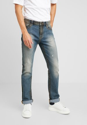 Jeans straight leg - dirty denim