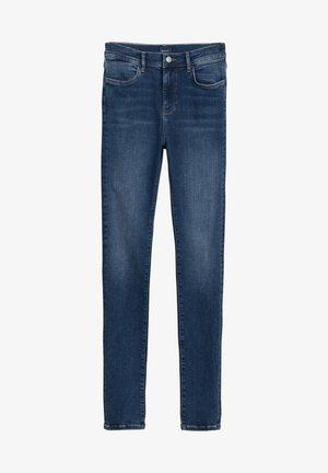 NELLA - Jeans slim fit - mid blue worn in