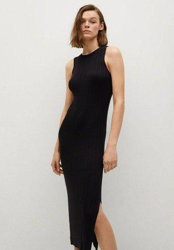 KNIT-I - Jumper dress - svart