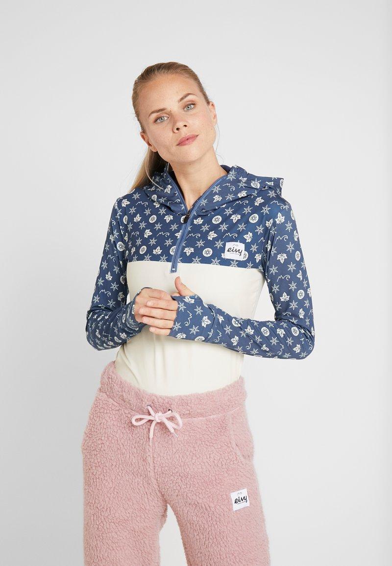 Eivy - ICECOLD ZIP HOOD - Unterhemd/-shirt - navy