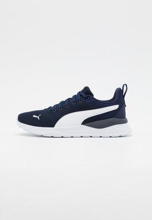 ANZARUN LITE JR UNISEX - Sports shoes - peacoat/white