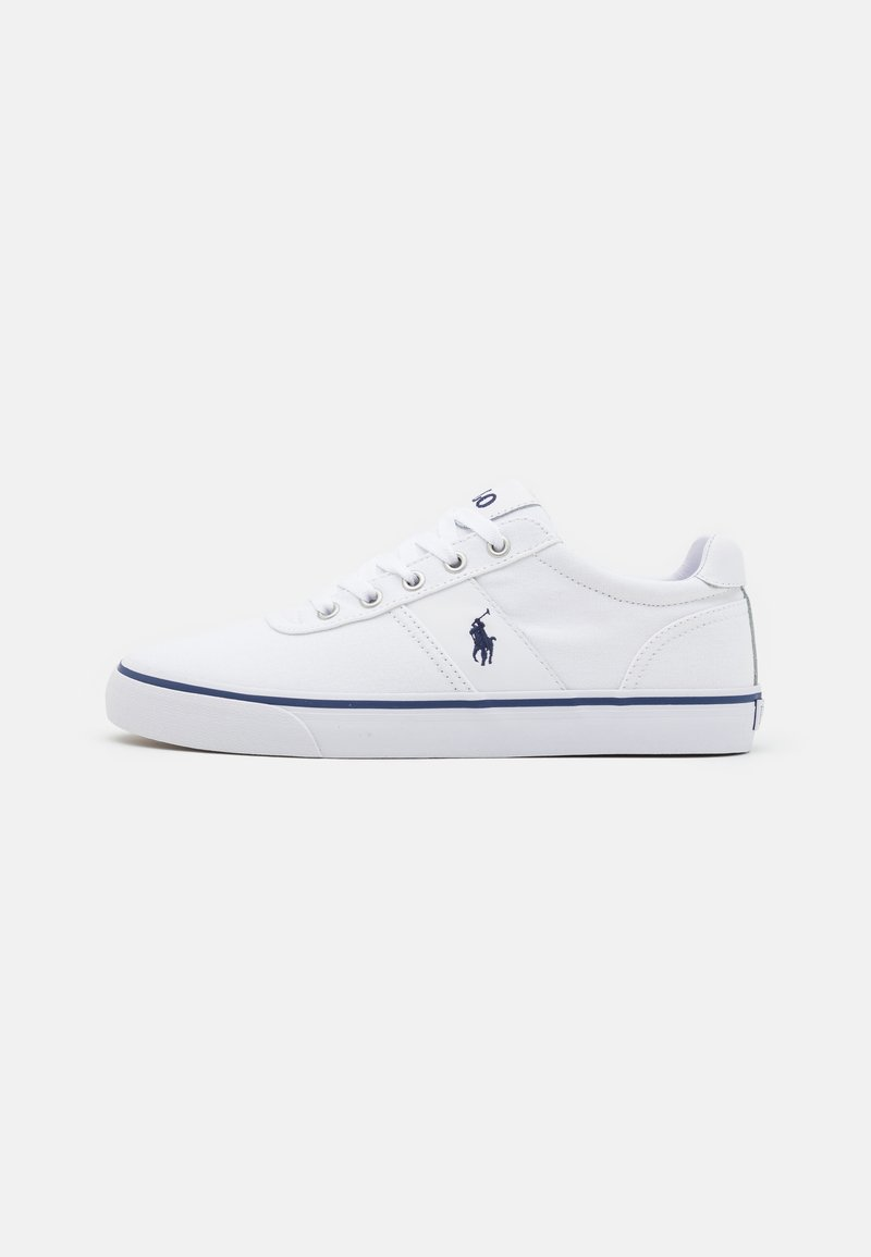 Polo Ralph Lauren - HANFORD TOP LACE - Sneakers basse - white/navy