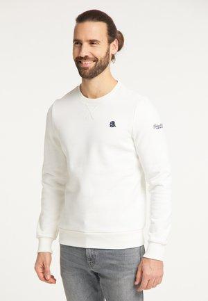 Sweatshirt - wollweiss