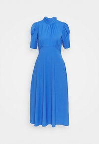 Closet - TIE BACK A LINE DRESS - Kjole - blue - 5