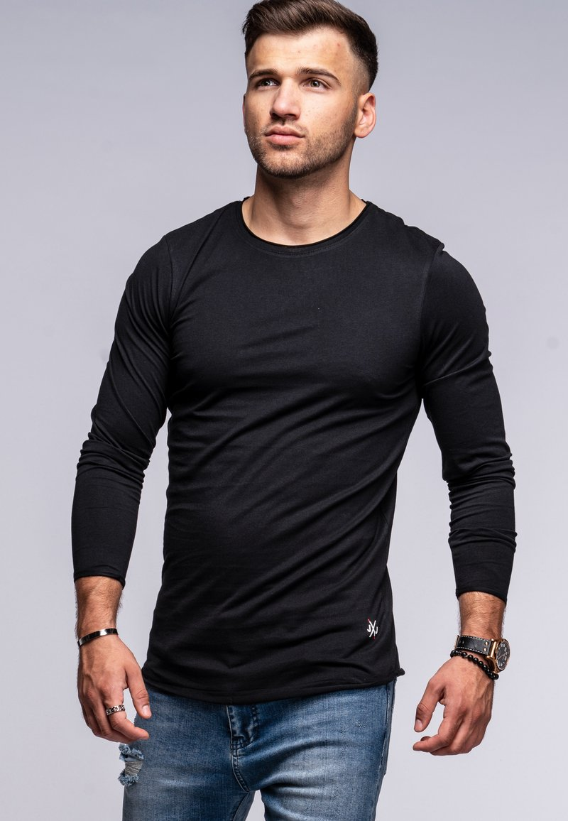 Jack & Jones - INFINITY  - Long sleeved top - black