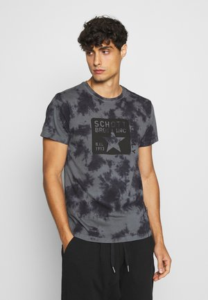 T-shirt imprimé - anthracite