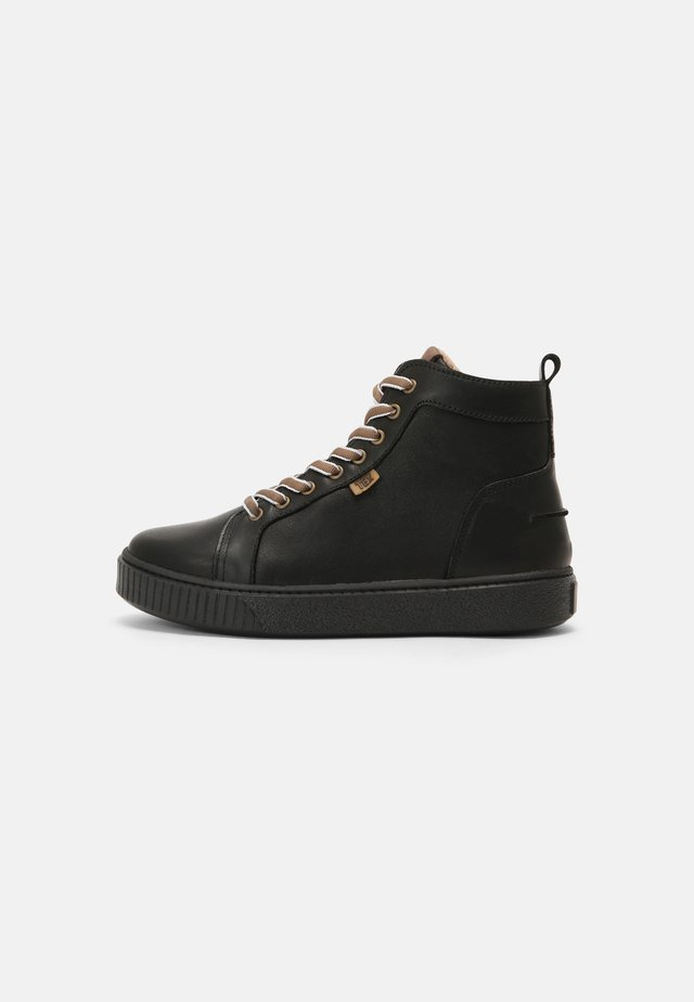 DAO - Sneakers high - black