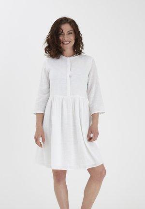 FRJASLUB - Shirt dress - white