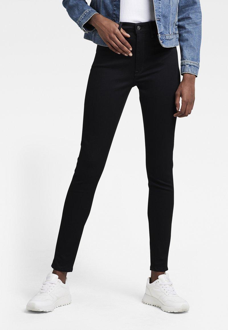 G-Star - G-STAR SHAPE HIGH SUPER SKINNY - Jeans Skinny Fit - rinsed