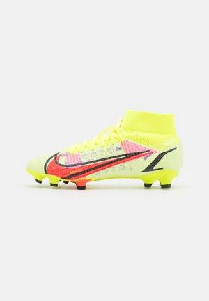 MERCURIAL 8 PRO FG - Voetbalschoenen met kunststof noppen - volt/bright crimson/black