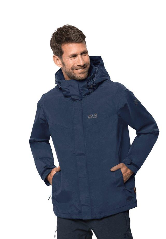 PEAKS  - Hardshell jacket - dark indigo