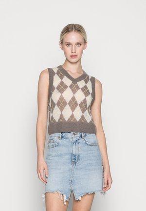 PEACHY - Pullover - argyle