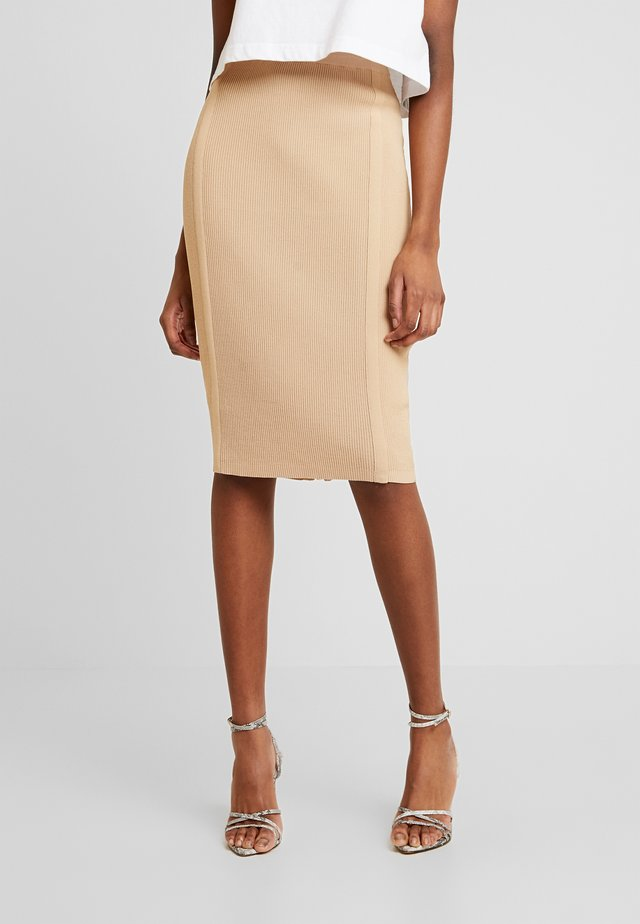 ORLA SKIRT - Blyantnederdel / pencil skirts - camel