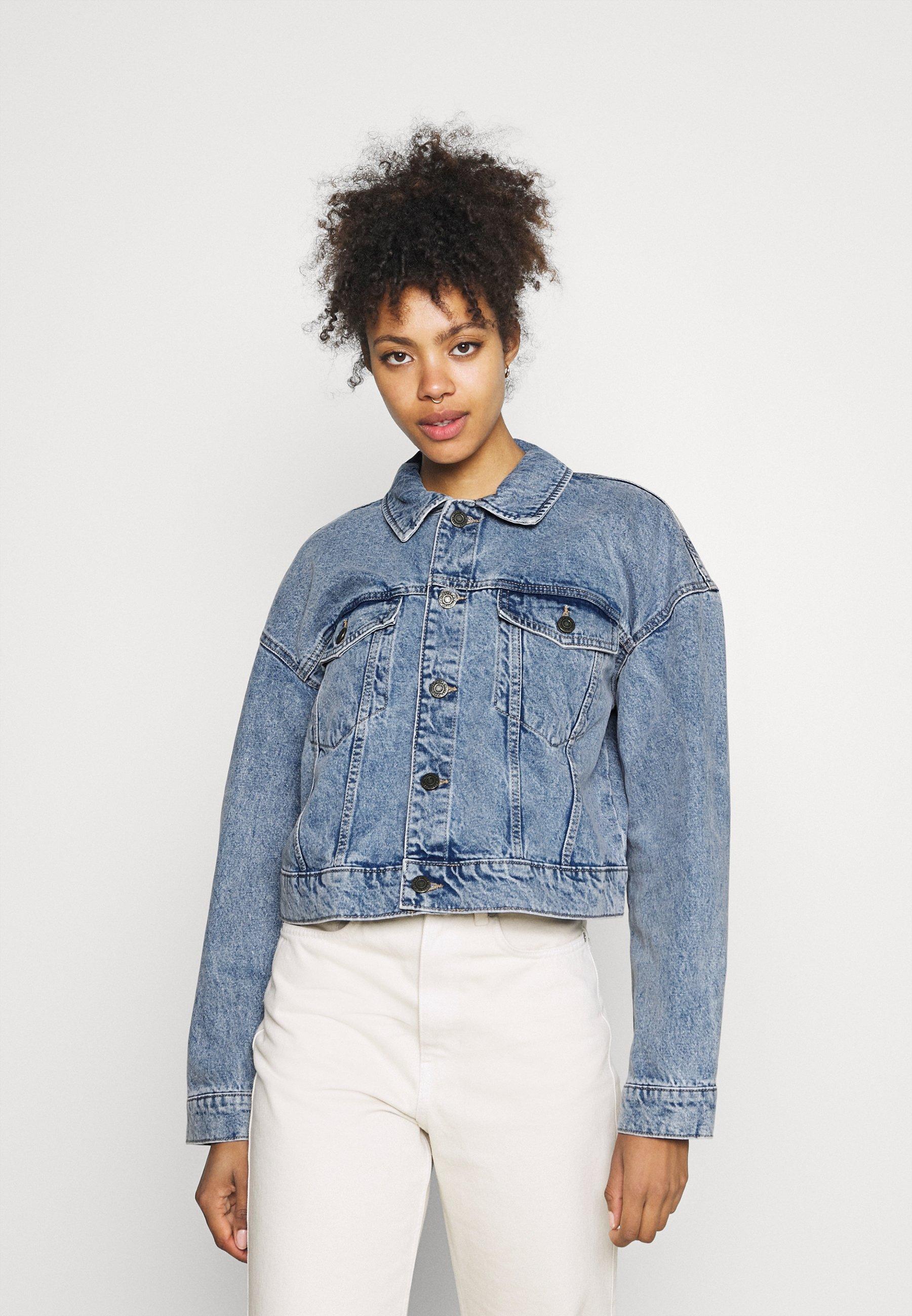 Women NMAVA JACKET - Denim jacket