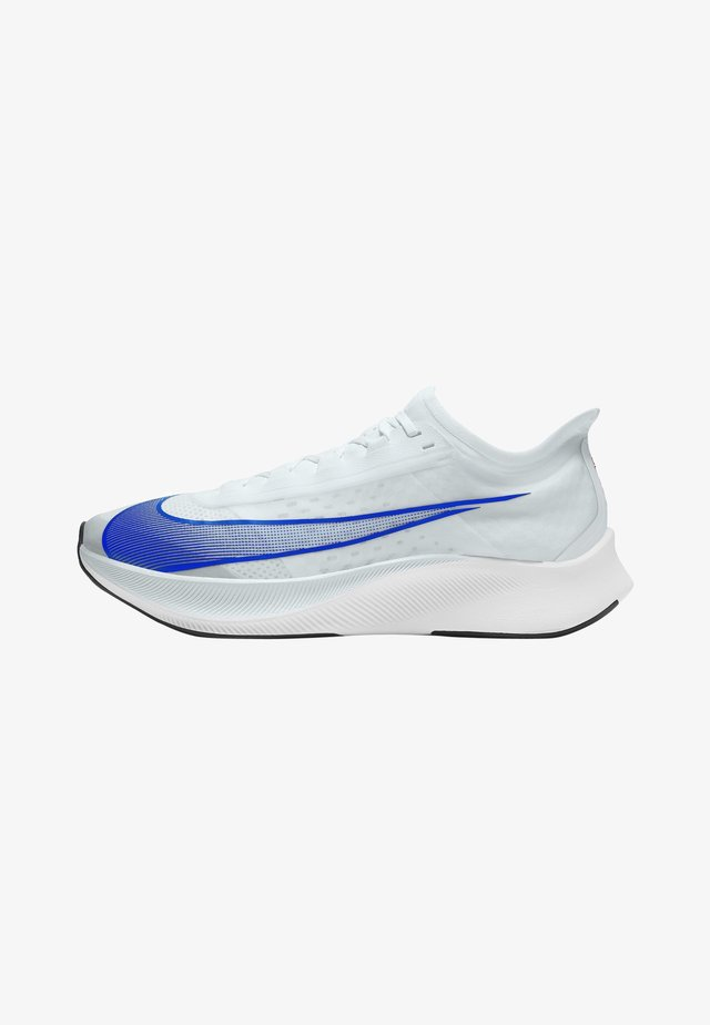 ZOOM FLY 3 - Chaussures de running neutres - pure platinum/bright crimson/black/racer blue