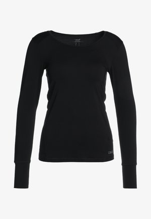 ESSENTIAL LONG SLEEVE - Långärmad tröja - black