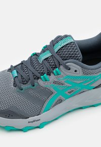 ASICS - GEL SONOMA 6 - Chaussures de running - carrier grey/baltic jewel - 5